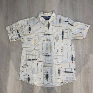 Jack O'Neill Collection SS Button Down Surfing XL
